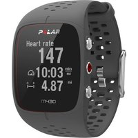 polar m430 gps running watch grey