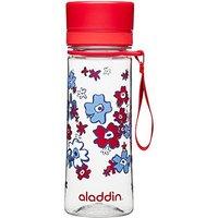 Aladdin Aveo Clear Tritan Water Bottle 350ml Red