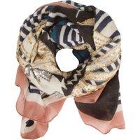 Deze luxe sjaal van becksã¶ndergaard is een echte blikvanger dankzij de opvallende print en de prachtige ...