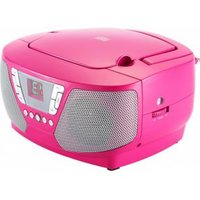 Bigben Interactive CD60RSSTICK Portable CD player Roze cd-speler