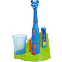 BESTRON Bestron elektrische tandenborstelset voor kinderen beer DSA3500B