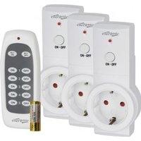 EnerGenie EG-SSWS3-01 3680W Wit smart plug