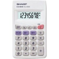 Sharp EL233S Zakrekenmachine EL-233 S