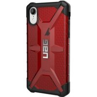 UAG Plasma Series iPhone XR Cover Rood-Zwart