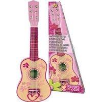 Houten gitaar 6 snaren meiden versie