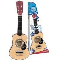 Houten gitaar 6 snaren