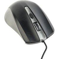 Optische muis USB zwart-antraciet
