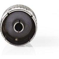 Coaxadapter | IEC (Coax) Male IEC (Coax) Female | Metaal