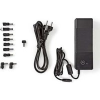 Laptopadapter | Universeel met 9 stekkers & USB | 150 W | Uitgang 12 V 24 V