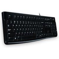 Logitech K120 toetsenbord USB Oekraïens Zwart