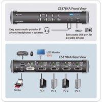 Aten CS1784A KVM-switch