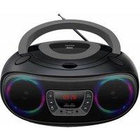 Denver TCL-212BT FM CD-radio AUX, CD, USB, Bluetooth Sfeerverlichting Grijs