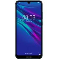 Huawei Y6 2019 Smartphone Hybrid-SIM 32 GB 15.2 cm (6. inch) 13 Mpix Android 9.0 Sapphire Blue