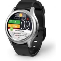 MyKronoz ZeRound3 smartwatch Zilver AMOLED 3,05 cm (1.2)