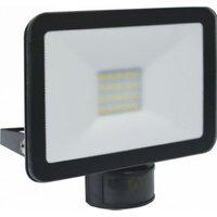 ELRO LF5020P LED Buitenlamp met Bewegingssensor Slim Design 20W-1600lm Zwart