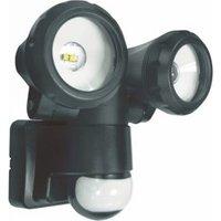 ELRO LT3505P 2-Kops LED Buitenlamp met Bewegingssensor 2x5W 800LM Zwart