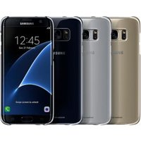 Samsung Galaxy S7 Edge Clear Cover Zilver