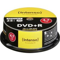 Intenso DVD+R 4.7GB, Printable, 16x (4811154)