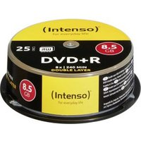 Intenso DVD+R 8.5GB 8x Double Layer 25er Cakebox (4311144)