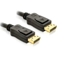 DeLOCK Cable Displayport 1m male male Gold (82423)