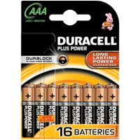 Duracell Plus Power batterijen AAA 16 stuks