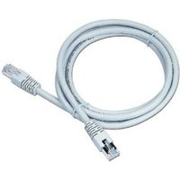Pp6-15m Cable Utp Cat6 Awg24 Stranded Foil Shielded Patch Cord With Moulded Strain Relief 15m Grey