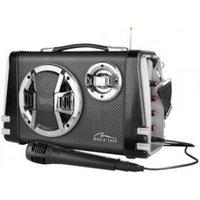 Media-Tech Boombox Karaoke functie inclusief microfoon Bluetooth