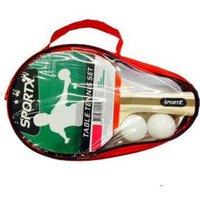 SportX Luxe Tafeltennisset 2 bats ** 2 balllen