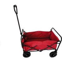 Bolderwagen Opvouwbaar Rood