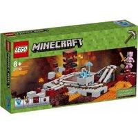 LEGO Minecraft De Nether spoorweg