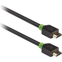 High Speed HDMI kabel met Ethernet HDMI connector HDMI connector 1,00 m grijs