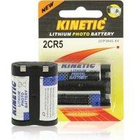 Lithium batterij voor analoge en digitale camera's 6V 1300mAh