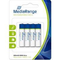 MediaRange Batterij Mediarange Rechargeable Accu Micro AAA HR03  4St (MRBAT 120)