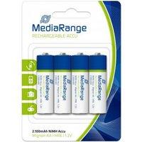 MediaRange Batterij Mediarange Rechargeable Accu Mignon AA HR06  4Stk (MRBAT 121)