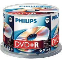 Philips DVD+R 16X box 50