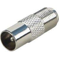 Schwaiger Schwaiger Adapter F-koppeling-Koax stekker Silber (UEST9330531)