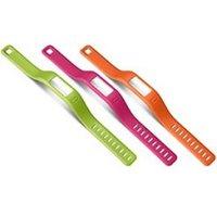 Garmin Vivofit Polsbanden Roze-Groen-Oranje S