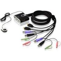 Aten CS692 KVM-switch t-m 2 PC's