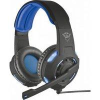Gaming headset USB Kabelgebonden Trust GXT 350 Radius Over Ear Zwart