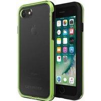 LifeProof SLΛM 4.7  Hoes Zwart, Groen, Transparant
