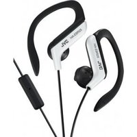 JVC HA-EBR25-W JVC Sport Clip Headphone Remote White (HA-EBR25-W-E)