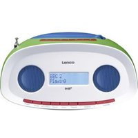 Lenco Draagbare DAB+ radio met CD-MP3-speler SCD-69 groen