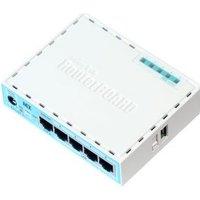Mikrotik RB750GR3 Ethernet LAN Turkoois, Wit bedrade router