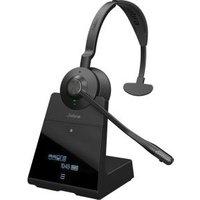 Jabra Engage 75 Mono Monauraal Hoofdband Zwart hoofdtelefoon