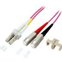 EFB Elektronik Glasvezel Aansluitkabel [1x LC-stekker 1x SC-stekker] 50-125µ 7.50 m