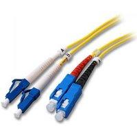 Glasvezel Kabel LC naar SC OS2 3 meter