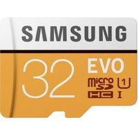 Samsung 32GB, MicroSDXC EVO 32GB SDXC UHS-I Klasse 10 flashgeheugen