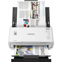 Epson WORKFORCE DS-410 ADF + Manual feed scanner 600 x 600DPI A4 Zwart, Wit