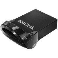 Sandisk 16 GB ULTRA FIT USB 3.1 16GB USB 3.0 (3.1 Gen 1) Capacity Zwart USB flash drive