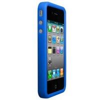 Technaxx silicone deluxe case iPhone 4 blauw .2977